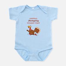 ANNUAL TURKEY TROT Infant Bodysuit