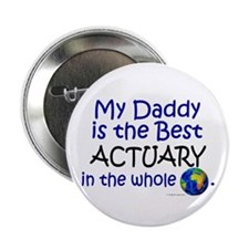 Best Actuary In The World (Daddy) Button