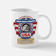 USA Pledge of Allegiance Mugs