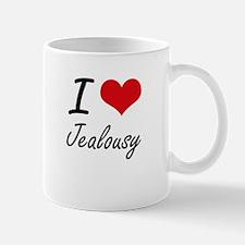 I Love Jealousy Mugs