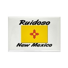 Ruidoso New Mexico Rectangle Magnet