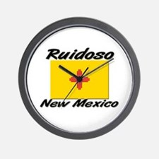 Ruidoso New Mexico Wall Clock