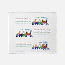 Choo-Choo Train.png Throw Blanket