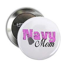 Navy Mom Button