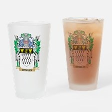 Coakley Coat of Arms - Family Crest Drinking Glass