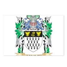 Coakley Coat of Arms - Fa Postcards (Package of 8)