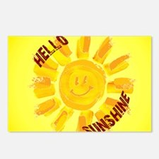 hello sunshine Postcards (Package of 8)