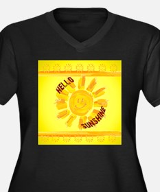 hello sunshin Plus Size T-Shirt