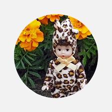 Little Leopard Girl Button