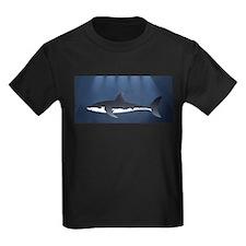 Danger Shark Below T-Shirt