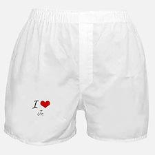 I Love Jr. Boxer Shorts
