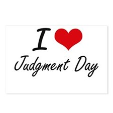 I Love Judgment Day Postcards (Package of 8)