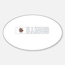Illinois Oval Decal
