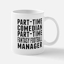 Fantasy Football Comedian Mugs