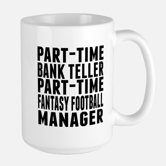 Fantasy Football Bank Teller Mugs