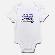 Best Actuary In The World (Mommy) Infant Bodysuit