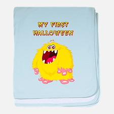 HAPPY MONSTER baby blanket