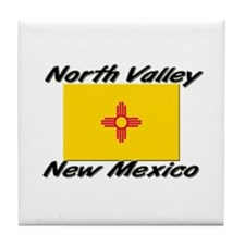 North Valley New Mexico Tile Coaster