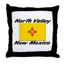 North Valley New Mexico Throw Pillow