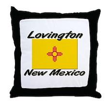 Lovington New Mexico Throw Pillow