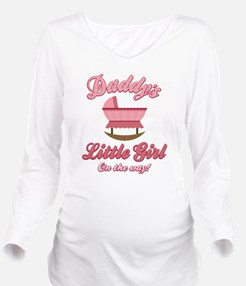 Daddy's Girl Long Sleeve Maternity T-Shirt