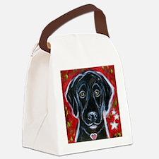 Cute Labrador retriever Canvas Lunch Bag