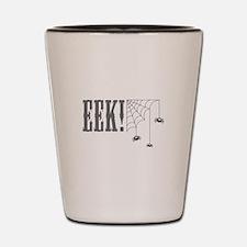 Eek Spiders Shot Glass