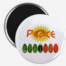 "Kwanzaa Peace Gifts 2.25"" Magnet (100 pack)"
