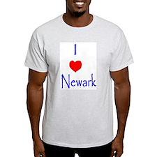 Represent Newark, NJ! Ash Grey T-Shirt