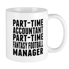 Fantasy Football Accountant Mugs