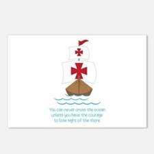 Cross The Ocean Postcards (Package of 8)