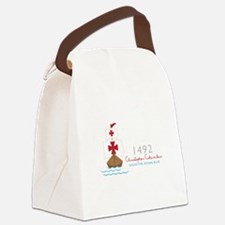 Christopher Columbus Canvas Lunch Bag