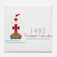 Christopher Columbus Tile Coaster