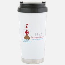Christopher Columbus Travel Mug