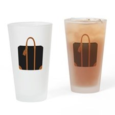 Briefcase Drinking Glass