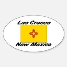 Las Cruces New Mexico Oval Decal