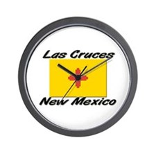 Las Cruces New Mexico Wall Clock