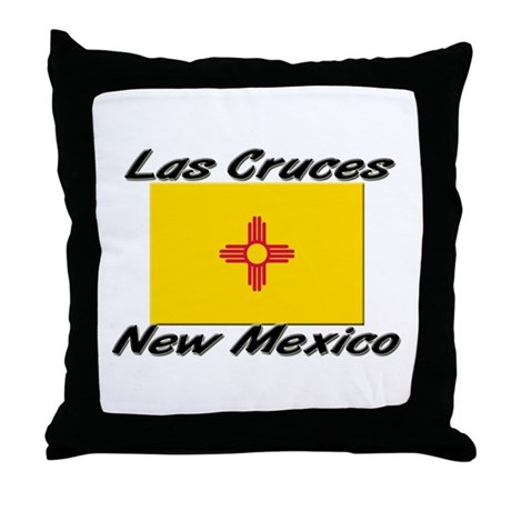 Las Cruces New Mexico Throw Pillow