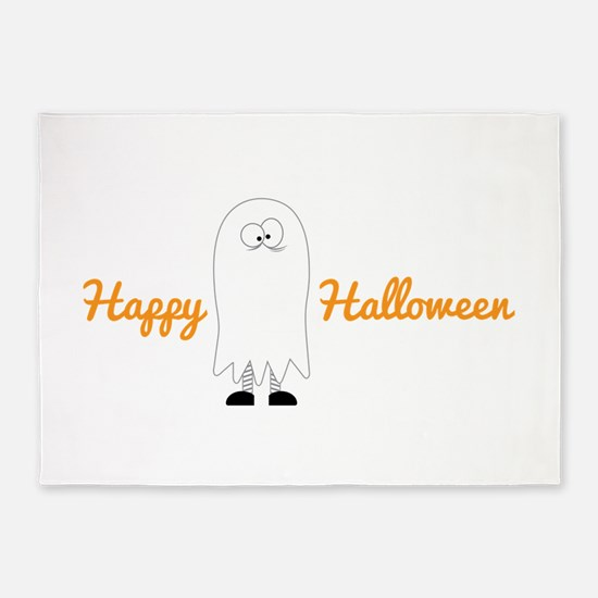 Happy Halloween 5'x7'Area Rug