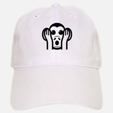 Three Wise Monkeys Kikazaru Hear NO Evil Emoji Baseball Baseball Cap