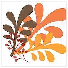 friendly Autumn Poster