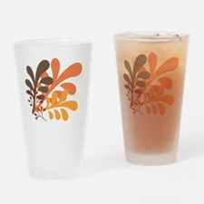 friendly Autumn Drinking Glass