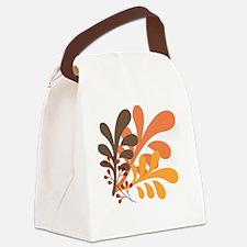 friendly Autumn Canvas Lunch Bag