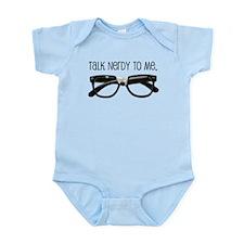 Cute Nerdy Infant Bodysuit