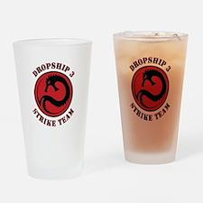 Kurita Dropship 3 Strike Team Drinking Glass