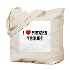I * Frozen Yogurt Tote Bag