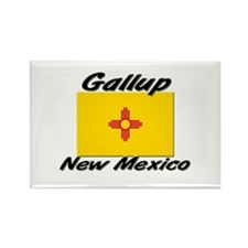 Gallup New Mexico Rectangle Magnet