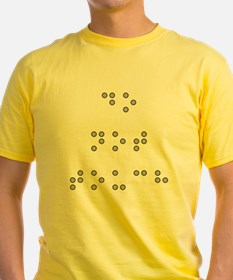 Do Not Touch in Braille (Grey) T