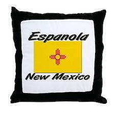 Espanola New Mexico Throw Pillow