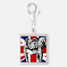 British Bulldog Flag Charms